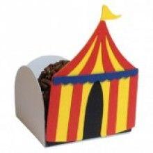 Forminha Artesanal Tenda de Circo (10 unidades)
