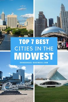The Midwest region of the U.S. is full of underrated cities. Here are 7 of the best Midwest gems to visit! These destinations are great for road trips and weekend getaways. There are so many ideas of things to do with kids or with teens, or for solo travelers and couples. Here's the the best of the Midwest. #midwest #usatravel