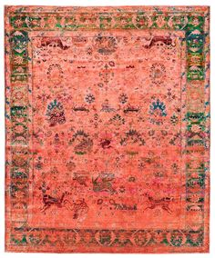color reform silk overdyed rug, abc home