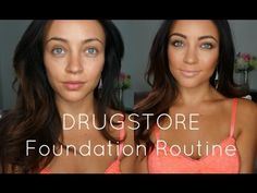 DRUGSTORE Foundation Routine! Besides ELF, we have all the other items mentioned in the video.