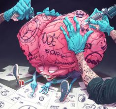 Piece for upcoming DF mag for an article on buying, brands and brains.