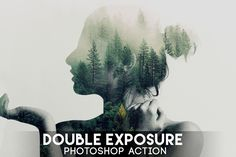 Double Exposure Photoshop Action on Envato Elements