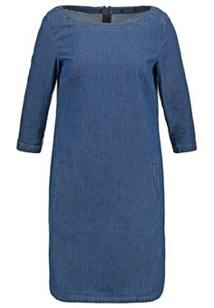 STRAIGHT FIT - Spijkerjurk - patriot blue