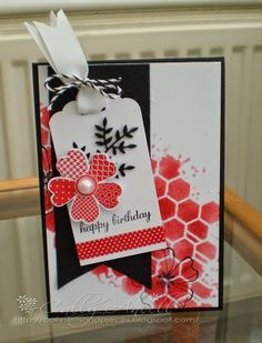 Craft Workshop card using mainly Stampin Up products
