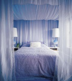Bed canopy <33---my dream bed :P