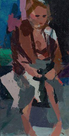 New Dressing Room Paintings - Summer 2012 - Ken Kewley