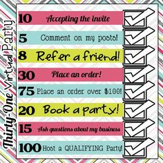 40 best thirty one social media graphics images party ideas