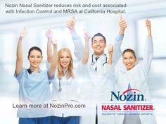 Nozin Reduces Risk & Cost Associated w/ #MRSA at @MarshallMedical via Reuters http://ht.ly/LBGdx #infectioncontrol