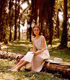 thepreppyyogini:    Audrey Hepburn in the woods. Wonderful photo. This one is new to me. Beautiful.