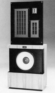 FOSTEX GZ2001 1986 Open Baffle Speakers 1e731540dea8a