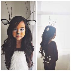 My little fawn #babydeer #shelivesforthisstuff #mygirl #halloween #halloweencostume #babydeercostume #fawncostume #kidscostumes #deermakeup #motd #halloweenmakeup #fawn #teamgill #pictapgo_app #childhoodunplugged #yeg