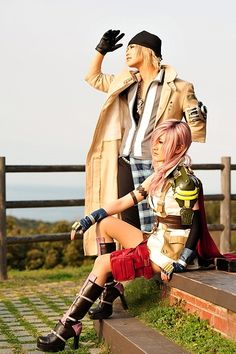 Final Fantasy XIII Snow and Lightning