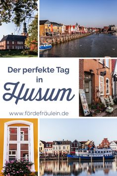 Gleis & Meer: Meine Tipps für einen Herbsttag in Husum The perfect day in Husum: Here are the best tips for your trip to the port of Husum. Discover the harbor, the castle park, the cute town with its Okinawa, Diving Lessons, Camping Holiday, North Sea, Baltic Sea, Autumn Day, Travel Alone, Buy Tickets, Hotel Spa