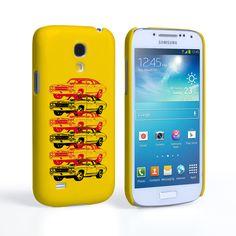 Caseflex Chevrolet Chevelle Classic Car Samsung Galaxy S4 Mini Case- Yellow | Mobile Madhouse