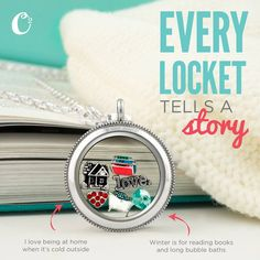Every Locket tells a story! This one shares the story of a warm and cozy home.www.charmingsusie.origamiowl.com