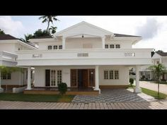 Cute Small Double Floor House 1100 Sft Budget of 11 Lakh Single Floor House Design, Modern House Floor Plans, Modern Bungalow House, Contemporary House Plans, New House Plans, House Outside Design, House Front Design, Front View Of House, Modern Exterior House Designs