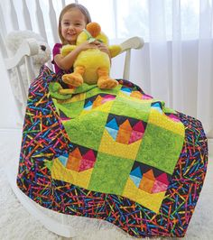 Baby Quilt Patterns for babies & kids. Browse through hundreds of quilts in this gallery curated especially for you by The Quilting Company Edit team.