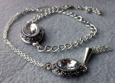 Beautiful Crystal Necklace and Bracelet Set. Starting at $10 on Tophatter.com!