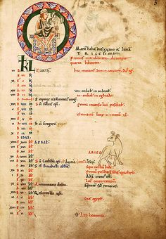 sta albans psalter   ... of the Months, March, St Albans Psalter   Flickr - Photo Sharing