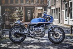 For Her - Wrench Kings BMW R100 ~ Return of the Cafe Racers