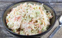 wka z pora, 1 Appetizer Salads, Dinner Salads, Appetizers, Vegetarian Recipes, Healthy Recipes, Polish Recipes, Coleslaw, Kraut, Food Porn