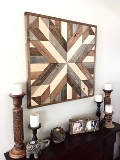 Reclaimed Wood Wall Art, Wood Art, Rustic Wall Decor, Farmhouse Decor,  Modern