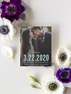 Deco Charm Photo Wedding Save the Date Cards Luxury Wedding Invitations, Elegant Invitations, Wedding Stationary, Vintage Save The Dates, Modern Save The Dates, Save The Date Magnets, Save The Date Cards, Engagement Ideas, Wedding Engagement