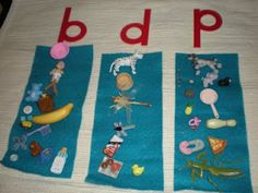 Sound sorting using letters and small objects. Great for phonemic awareness for preschoolers and Kindergarteners