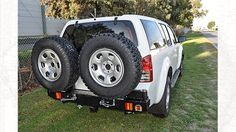Outback Accessories Twin Wheel Carrier Nissan Pathfinder R51
