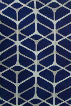 Rizzy Maze Rug in Blue White Grey $74.50 80 x 150| Rugs a million