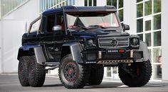 Brabus B63S 700 6x6 (2013) £400,000