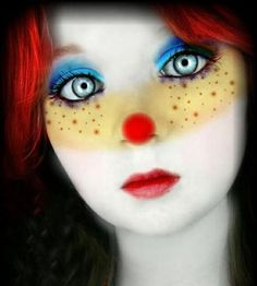 Make a Halloween Clown Makeup | Korean Contact Lens Free Shipping