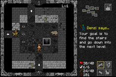 #Slashland has updated #Ananias, his mobile-friendly, browser-based #roguelike, three times since last I reported on it.  http://ultimacodex.com/2014/08/ananias-version-1-22-released/
