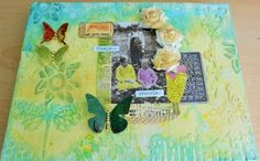 """I added """"CraftyCreations: """" to an #inlinkz linkup!http://inkythings.blogspot.co.uk/2015/07/textured-canvas.html"""