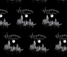 is my home lg fabric by gipsonwands on Spoonflower - custom fabric