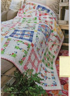 Good Morning Quilt Pattern Pieced HH