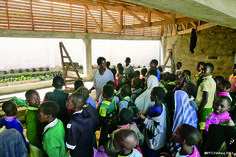The Waterbank School sponsored by Interface in 2013 was designed by David Turnbull and Jane Harrison of PITCHAfrica to address the needs of areas in Africa that lack easy access to clean# water. #design #sustainability