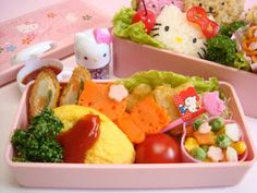 Hoka Hoka Bento: My First Hello Kitty Bento =^^=