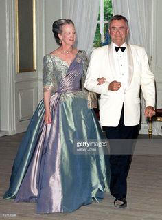 Queen Margrethe II & Prince Henrik Of Denmark Denmark Royal Family, Danish Royal Family, Denmark Fashion, Queen Margrethe Ii, Danish Royalty, Queen Pictures, Royal Tiaras, Casa Real, Princess Mary