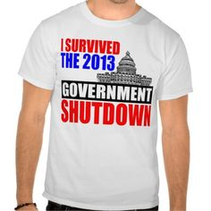 I survived the government shutdown