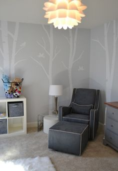 Modern Nursery #gray #boy #neutral