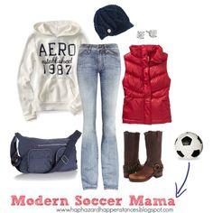fffd54aea Modern Soccer Mama Hockey Mom