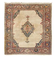 ZEIGLER MAHAL CARPET SULTANABAD, WEST PERSIA, LATE 19TH CENTURY 315CM X 258CM - SALE 411 - LOT 890 - LYON & TURNBULL