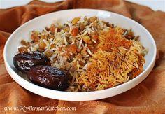 Adas Polow ~ #Persian Lentil Rice #recipe