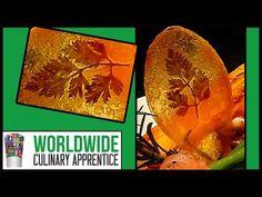 Potato Garnish-Pomme Maxim's-Food Presentation-Food Art-Food Decoration - YouTube