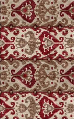 The beautiful colors in this ikat Surya rug work together perfectly.