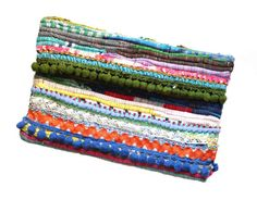 Boho chic handbag. Kourelou clutch. Patchwork by HaveaFlowerDay