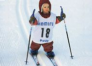 Everyone starts skiing at an early age     Finnland -- Norge ( dad was 2, i was 4)  *Not my comment* pa