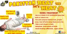 Home treatment to beat the heat stroke, at this time we should forward this awareness … Continue reading → Cold Feet, Home Treatment, Beat The Heat, Pakistan, Beats, How To Apply, Let It Be