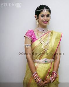 South Indian Bride Tremendous Jewelry